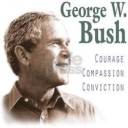 George Bush Ash Grey T-Shirt