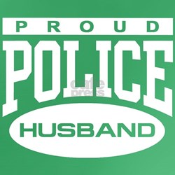 Proud Police Husband T-Shirt