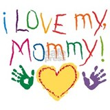 Baby loves mommy Maternity