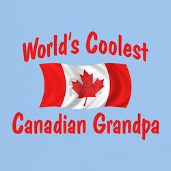 Coolest Canadian Grandpa T-Shirt