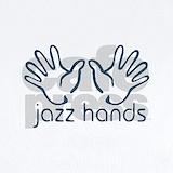 Jazz hands Baby Bodysuits