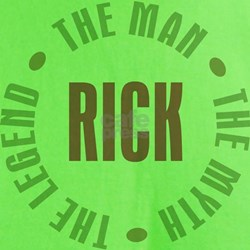 Rick Man Myth Legend T-Shirt