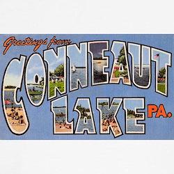 Conneaut Lake Pennsylvania (Front) T