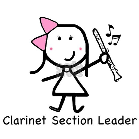 clarinet section leader I was a member of the shepherd high school concert band during my 9th grade year of high school, i was 2nd chair in the clarinet section during my 11th and 12th grade years, i was the clarinet section leader.