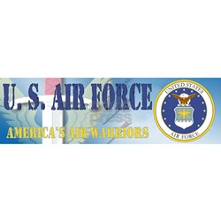 Usaf Coat Arms Bumper Stickers Car Decals More