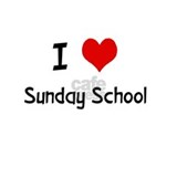I LOVE SUNDAY SCHOOL Mug
