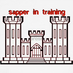 Sapper in Training T-Shirt