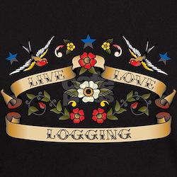 Live Love Logging T-Shirt