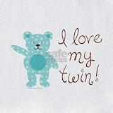 Twin boy & girl  shower gifts Bib