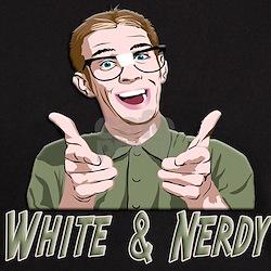 Weird al white and nerdy shirt