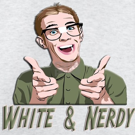 Weird Al Yankovic - White & Nerdy Sweatshirt by shirtpervert