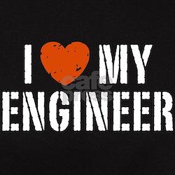 I Love My Engineer Tee