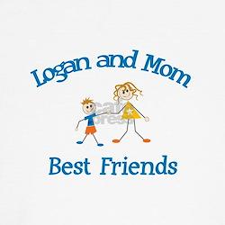 Logan and Mom - Best Friends T-Shirt