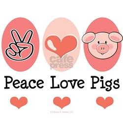 Peace Love Pigs Shirt
