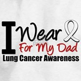 Lung cancer dad Sweatshirts & Hoodies