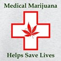 Marijuana medical T-shirts