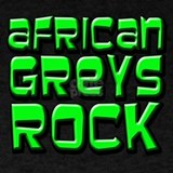 African grey T-shirts