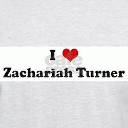 I Love Zachariah Turner T-Shirt