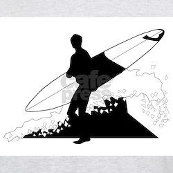 Surfing Ash Grey T-Shirt