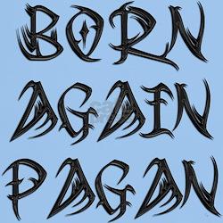 Tribal Born Again Black Tee (Light)