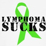 Lymphoma sucks T-shirts