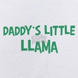 Daddys little llama Baby Bodysuits