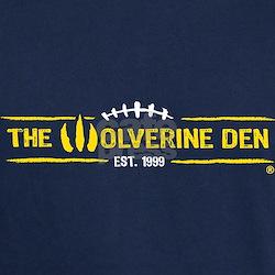 The Wolverine Den Short Sleeve Blue