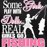 Girls fishing T-shirts
