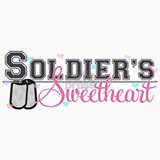 Soldier's Sweetheart Ceramic Travel Mug