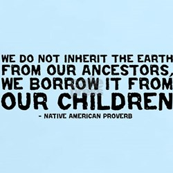 Quote - Native American - Children T-Shirt