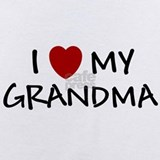 I love grandma Baby Bodysuits