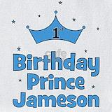 1st birthday boy personalized bib Bib