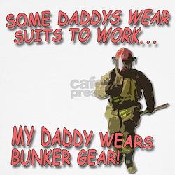 My Daddy Wears Bunker Gear T-Shirt