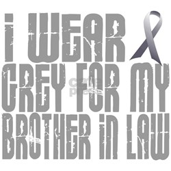 I Wear Grey For My Brother-In-Law 16 Tee