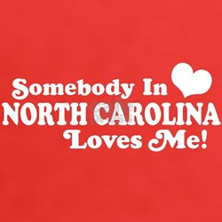 Somebody in North Carolina Loves me Tee