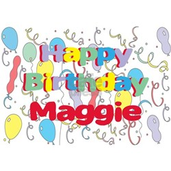 Happy Birthday Maggie Coffee Mugs | Happy Birthday Maggie ...