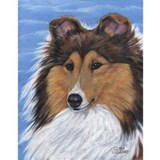 Blue Sky Sable Sheltie Mug