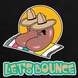 Let's Bounce Mexican Jumping Beans Tee