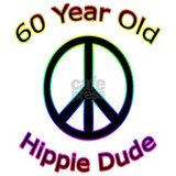 Hippie Dude 60th Birthday Mug
