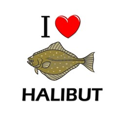 I Love Halibut Shirt