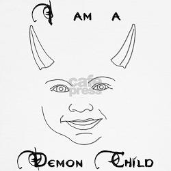 'I Am A Demon Child' Kids T-Shirt