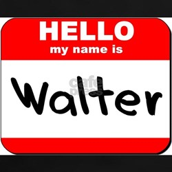 Hello my name is Walter Tee