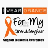 Leukemia I Wear Orange Ceramic Travel Mug