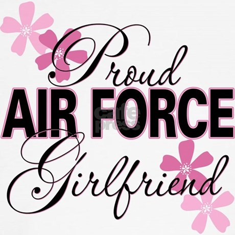 Proud Air Force Girlfriend Shirts 103