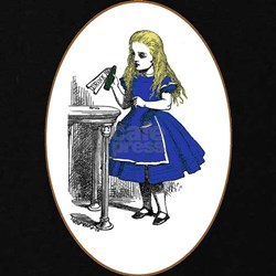 Alice and the Drink Me Bottle T-Shirt