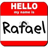 Hello my name is Rafael Mug
