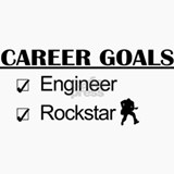 Engineer Career Goals - Rockstar Ceramic Travel Mu