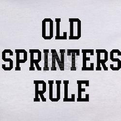 Old Sprinters Rule Tee