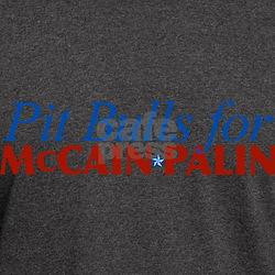 Pit Bulls for McCain Palin T-Shirt
