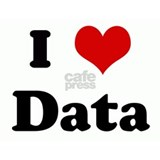 I love data T-shirts